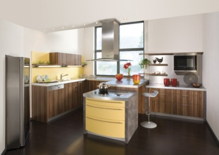 Ideas de Cocinas en Amarillo - Propuesta 08
