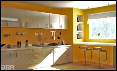 Ideas de Cocinas en Amarillo - Propuesta 10