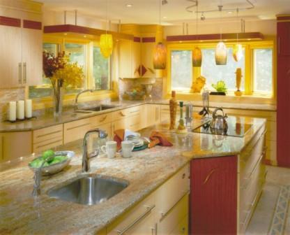 Ideas de Cocinas en Amarillo - Propuesta 11