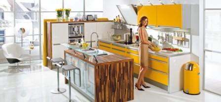 Ideas de Cocinas en Amarillo - Propuesta 13