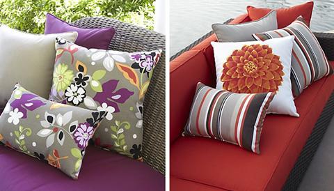 Cojines para decorar con estilo - Decoracion de sofas con cojines ...