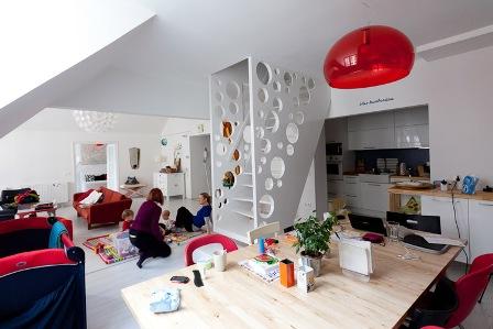 La escalera como centro de la decoracion - Foto 5