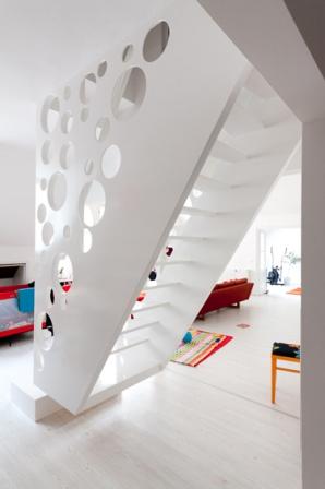 La escalera como centro de la decoracion - Foto 6