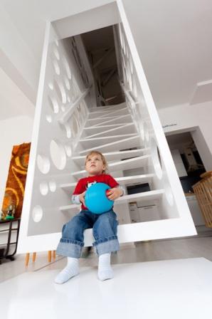 La escalera como centro de la decoracion - Foto 7