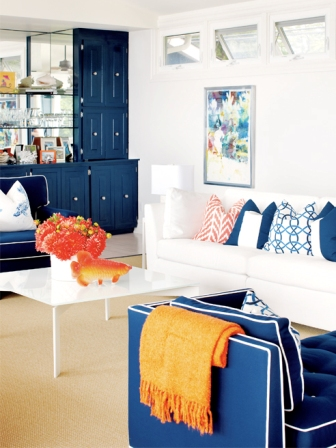 Detalles en Naranja, Azul y Blanco - Foto 2