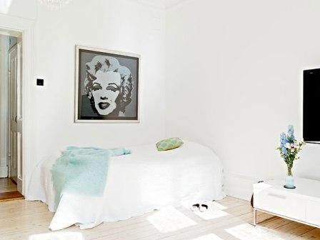 Estilo Escandinavo en las habitaciones - Opcion 04