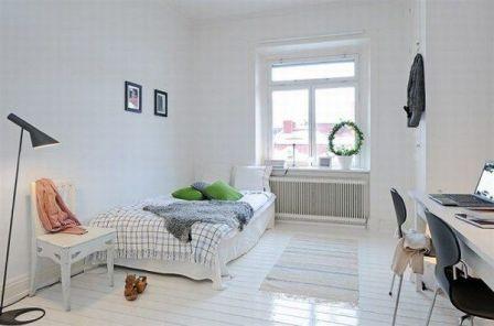 Estilo Escandinavo en las habitaciones - Opcion 07