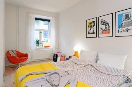 Estilo Escandinavo en las habitaciones - Opcion 09