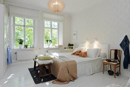 Estilo Escandinavo en las habitaciones - Opcion 19
