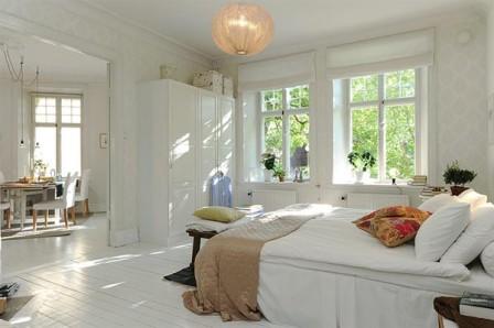 Estilo Escandinavo en las habitaciones - Opcion 25