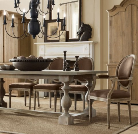 Mesas rústicas de madera - Opcion 02