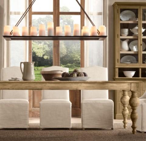 Mesas rústicas de madera - Opcion 03