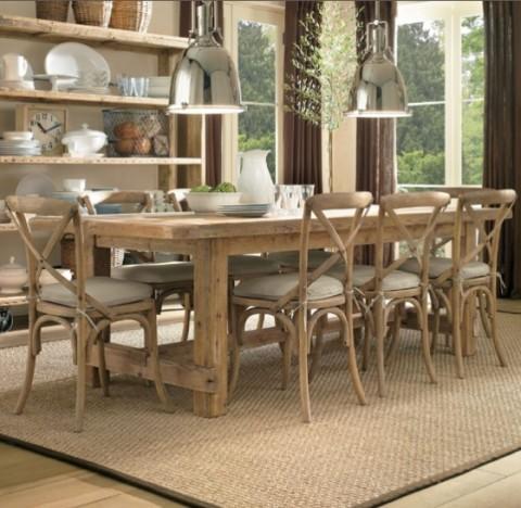 Mesas rústicas de madera - Opcion 05