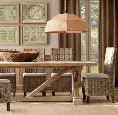 Mesas rústicas de madera - Opcion 10