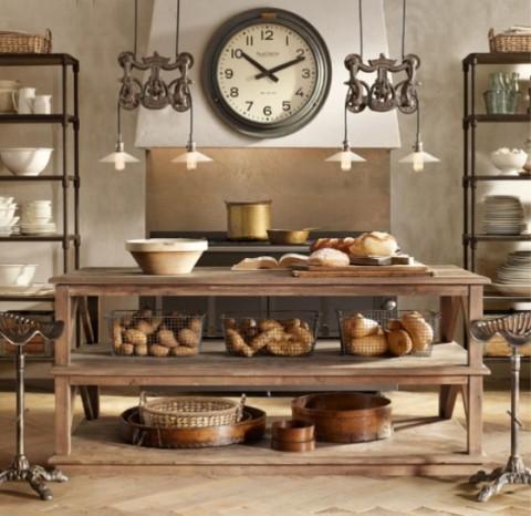 Mesas rústicas de madera - Opcion 11