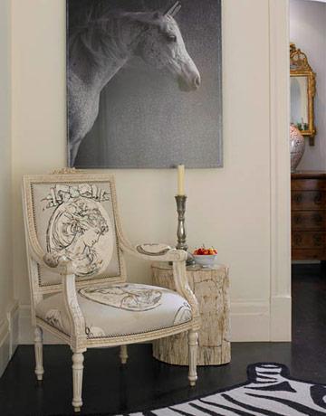 Ideas de recibidores de estilo cl sico - Recibidores con estilo ...