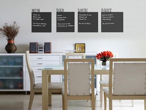 Ideas de vinilos para tu hogar - Vinilos decorativos comedor ...