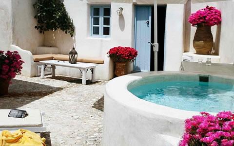 Una casa con estilo griego Casas griegas antiguas