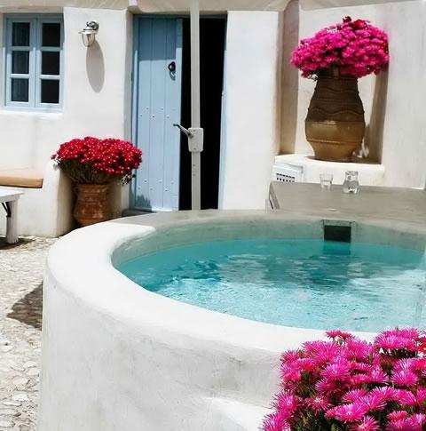 Una casa con estilo griego - Decoracion griega ...