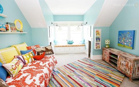 Una divertida habitaci n para ni os - Alfombras habitacion nino ...