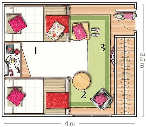 Habitacion de estilo bucolico 6 gu a para decorar for Habitacion o pieza de una casa