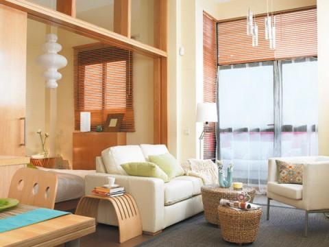 Un peque o piso de 40 m2 aprovechado for Como organizar un apartamento pequeno