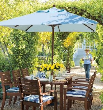 Pon linda tu casa sombrillas para el jardin for Sombrillas de jardin