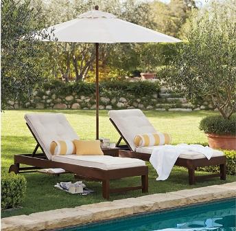 Sombrillas modernas para tu jard n for Sombrillas para piscinas