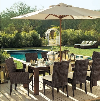 Sombrillas modernas para tu jard n - Sombrillas para piscinas ...