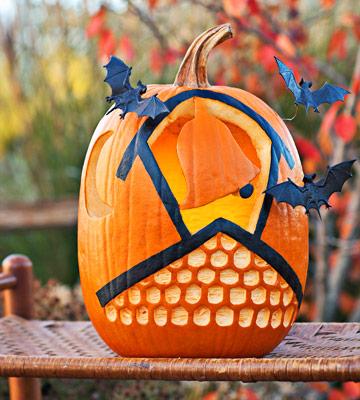 Halloween decora con calabazas talladas y disfrazadas - Decorar calabazas para halloween infantiles ...