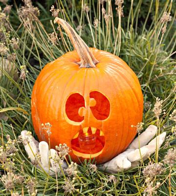 Halloween decora con calabazas talladas y disfrazadas - Calabazas de halloween de miedo ...