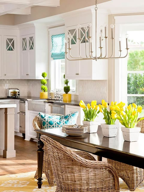 Una cocina y cientos de ideas para decorar