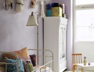 imagen Apartamentos: blanco con detalles en lila