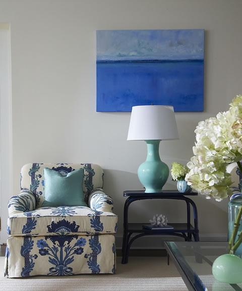 Color Azul para tu Sala