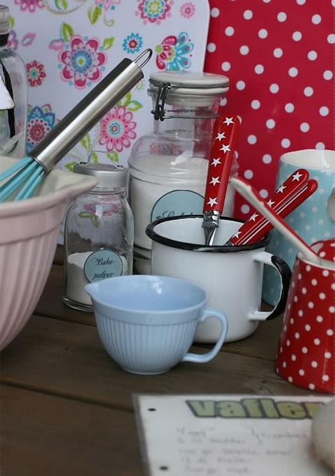 Detalles de estilo vintage para la cocina - Muebles de cocina estilo retro ...