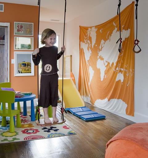 22 ideas de habitaciones para ni os y ni as - Tobogan infantil ikea ...