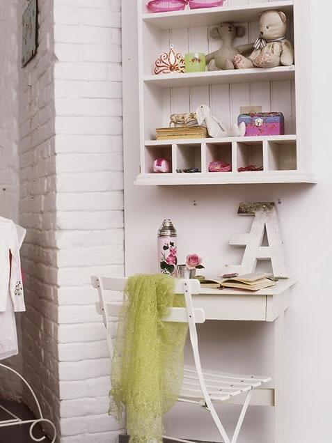 22 ideas de habitaciones para ni os y ni as - Estanterias para habitacion nina ...