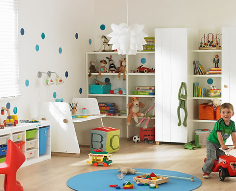 22 ideas de habitaciones para ni os y ni as for Decoracion de dormitorios infantiles pequenos