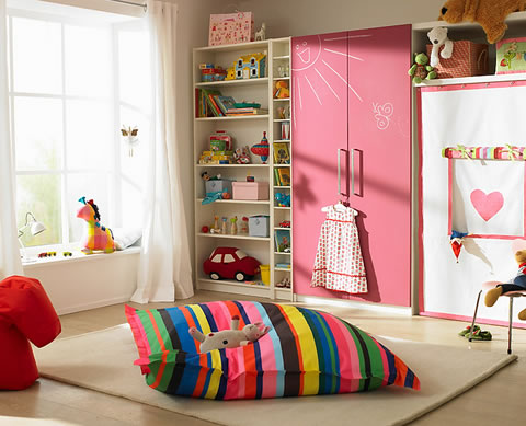 22 ideas de habitaciones para ni os y ni as for Muebles de princesas