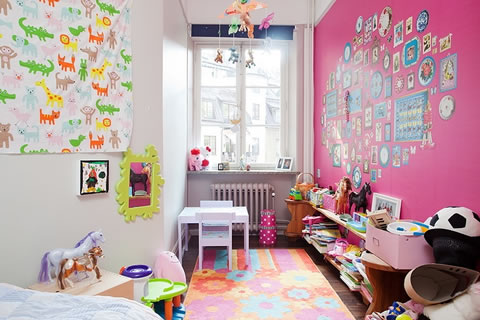 22 ideas de habitaciones para ni os y ni as for Decoracion cuarto para nina 3 anos