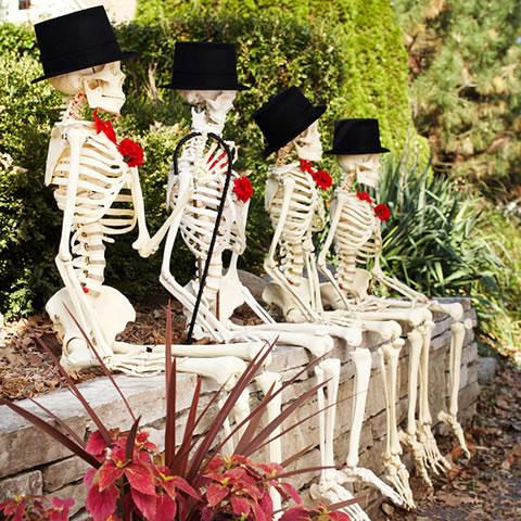 algunas ideas para decorar para halloween. Black Bedroom Furniture Sets. Home Design Ideas