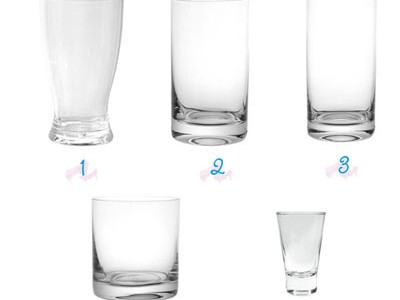 Vasos y copas for Copas y vasos para bar