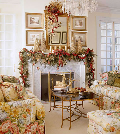 decoracion navidea de interiores