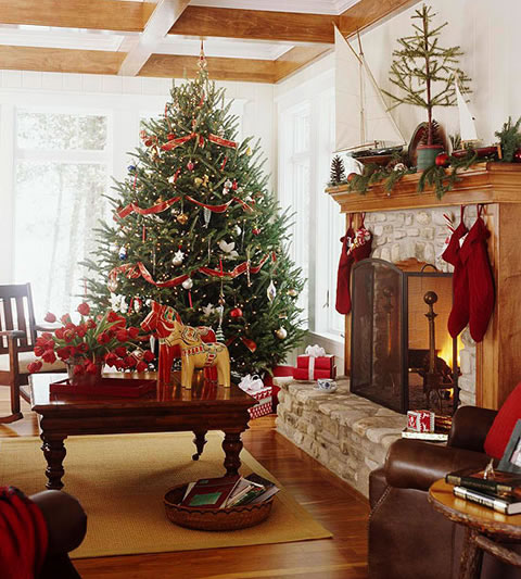 Luxurious Home Decor Ideas That Will Transform Your Living: 8 Ideas Para Decorar En Navidad Tu Living