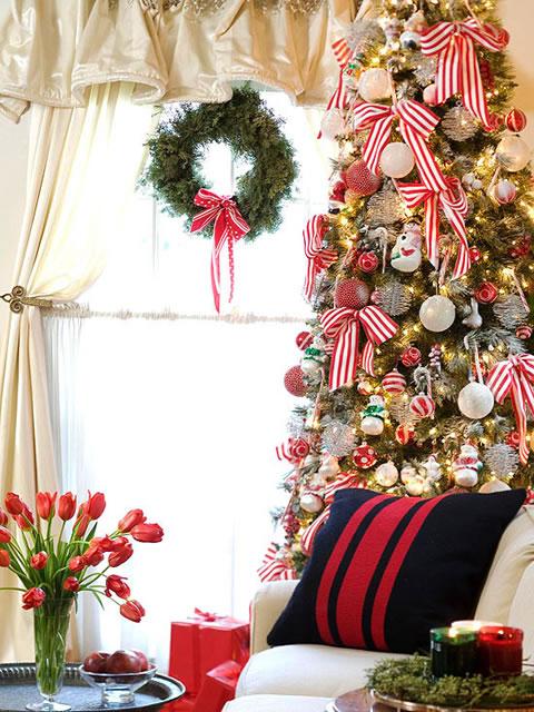 Cl sicas y modernas decoraciones de navidad for Fotos decoracion navidad