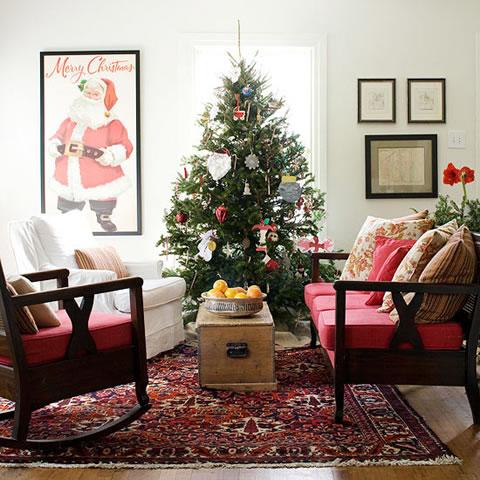 Cl sicas y modernas decoraciones de navidad - Decoracion navidena moderna ...