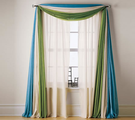Las cortinas como complemento decorativo for Cortinas para decorar