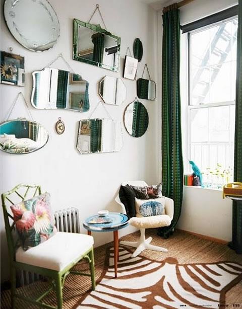 El estilo retro en la decoraci n - Decoracion de salones estilo vintage ...