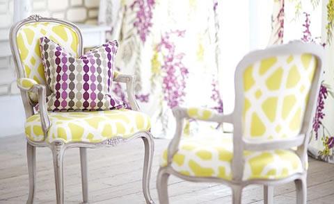 Impresiones art sticas y vers tiles para tu hogar for Telas tapizar sillas comedor