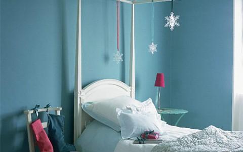 Dormitorios para niños con estilo navideño